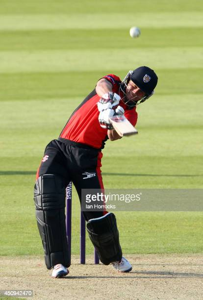 Ben Stokes of Durham Jets during The Natwest T20 Blast match between Durham Jets and Leicestershire Foxes at The Emirates Durham ICG on June 20 2014...