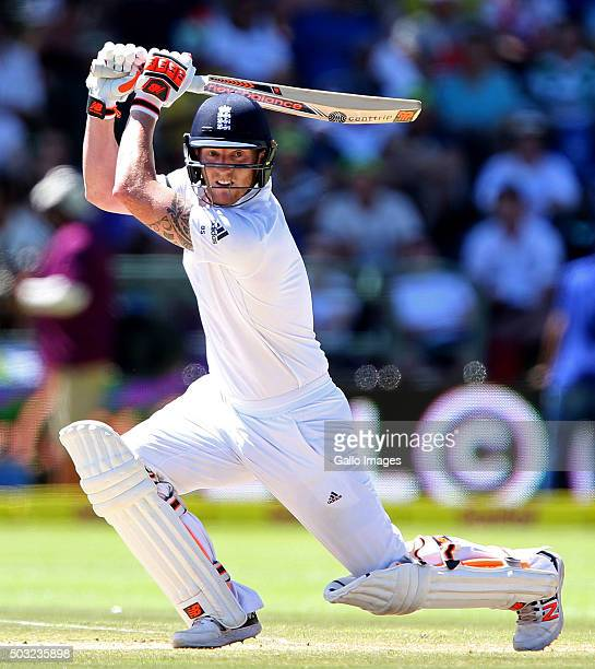 Ben Stokes of England during day 2 of the 2nd Test match between South Africa and England at PPC Newlands on January 03 2016 in Cape Town South Africa