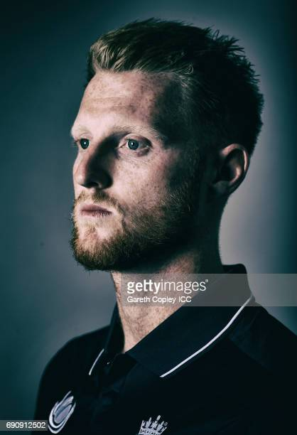 Ben Stokes of England poses for a portrait at Grange City on May 30 2017 in London England