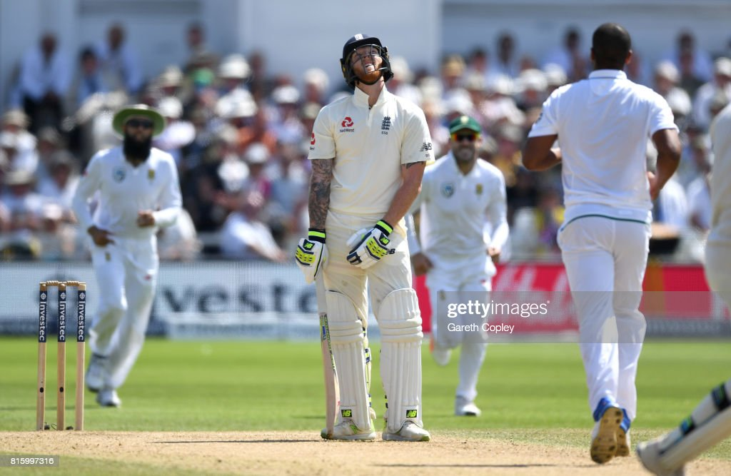 England v South Africa - 2nd Investec Test: Day Four