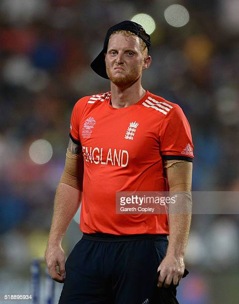 Ben Stokes of England reacts after losing the ICC World Twenty20 India 2016 Final between England and the West Indies at Eden Gardens on April 3 2016...