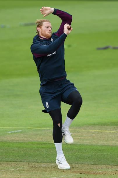 GBR: England Warm Up Match - Day 1
