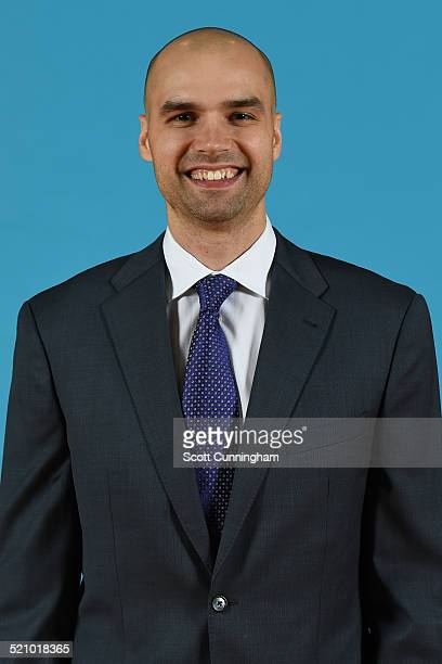 Ben Sullivan of the Atlanta Hawks poses for a photograph during the Atlanta Hawks Media Day on September 29 2014 at Philips Arena in Atlanta Georgia...