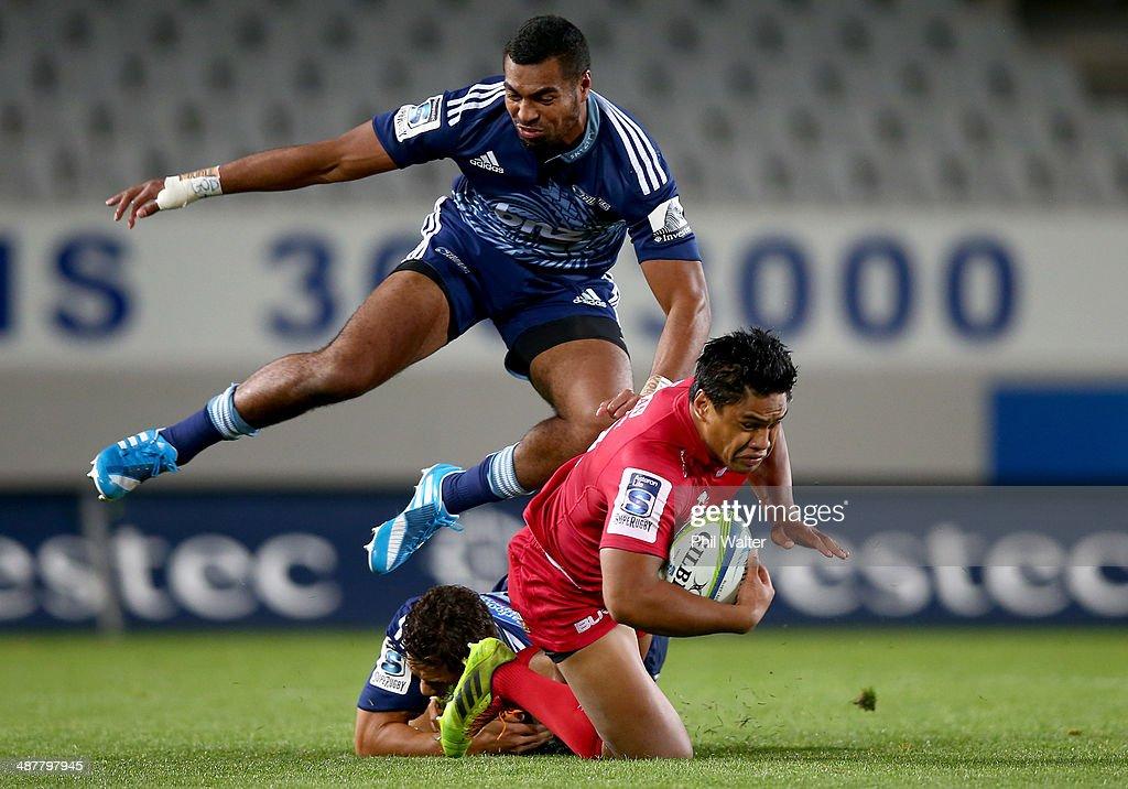 Super Rugby Rd 12 - Blues v Reds