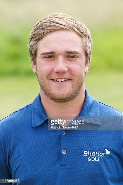 Ben Taylor of England poses during the 2012 St Andrews Trophy squad practice session at Portmarnock Golf Club on July 5 2012 in Portmarnock Ireland
