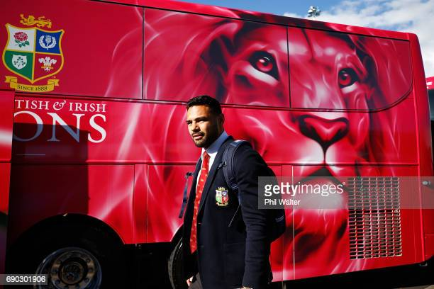 Ben Teo of the British Irish Lions arrives at Auckland International Airport on May 31 2017 in Auckland New Zealand