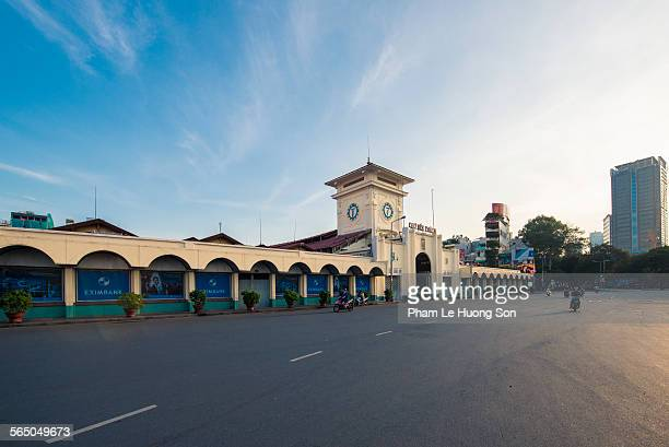Ben Thanh Market, Iconic French Style Building