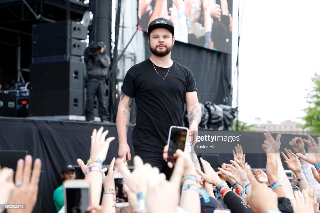 Ben Thatcher of Royal Blood performs live onstage during 2017 Governors Ball Music Festival - Day 3 at Randall's Island on June 4, 2017 in New York City.