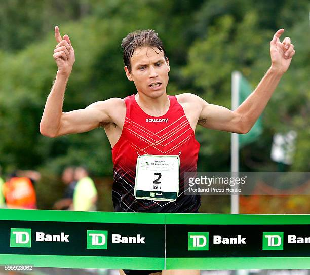 Ben True of Hanover NH wins the TD Beach to Beacon on Saturday August 6 2016