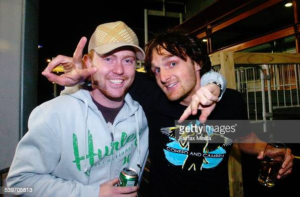 Ben Tuffy And Brad Fowler At The Monster Skate Park Launch Olympic Homebu Pictures