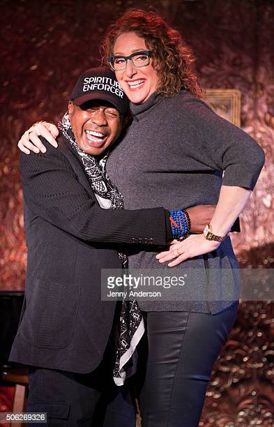 Ben Vereen and Judy Gold attend 54 Below press preview at Feinstein's 54 Below on January 22 2016 in New York City