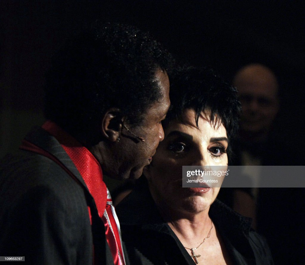Ben Vereen and Liza Minnelli during Broadway's Celebrity Benefit for Hurricane Relief Backstage at The Gershwin Theatre in New York City New York...
