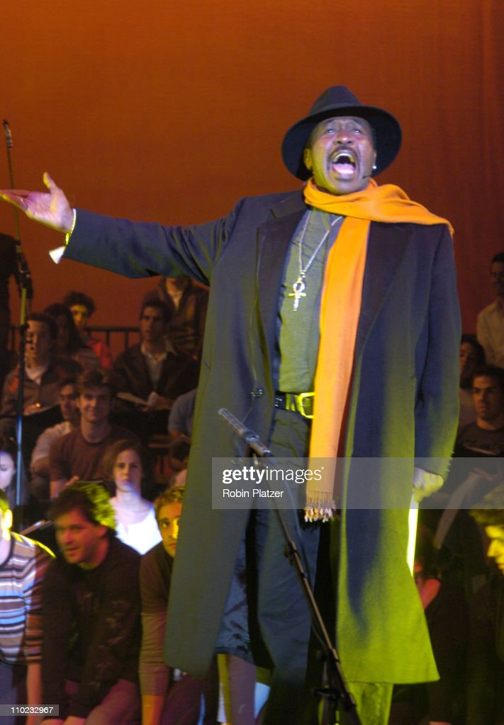Ben Vereen during 'Pippin' in Concert to Benefit The National AIDS Fund and The Storm Theatre November 29 2004 at The Manhattan Centers Grand...