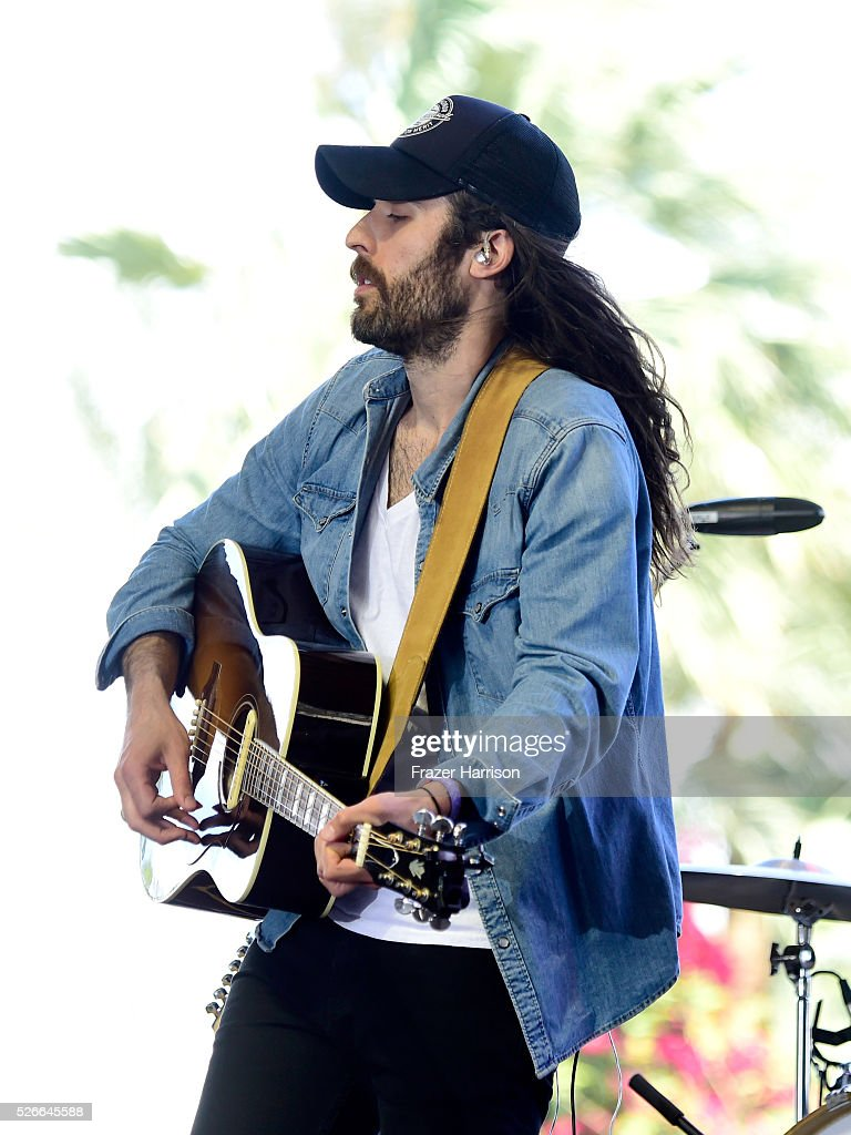 Ben Voskeritchian of the band These Wild Plains performs onstage during 2016 Stagecoach California's Country Music Festival at Empire Polo Club on April 30, 2016 in Indio, California.