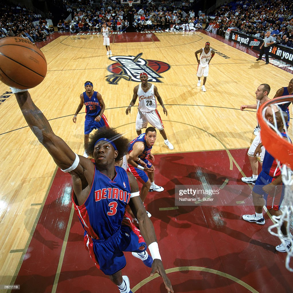 Detroit Pistons v Cleveland Cavaliers s and