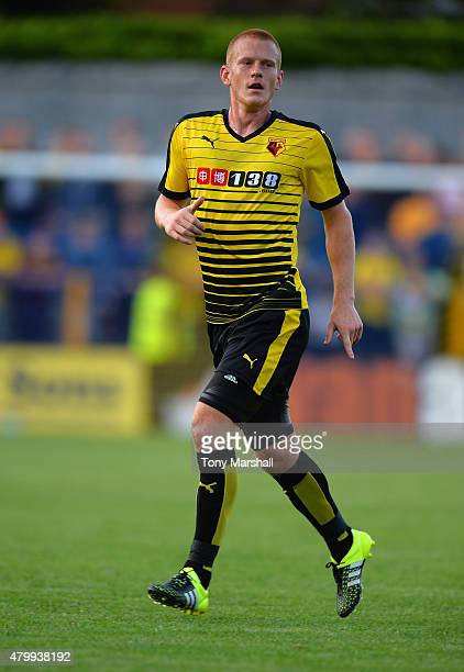 Ben Watson of Watford during the Pre Season Friendly match between St Albans City and Watford at Clarence Park on July 8 2015 in St Albans England