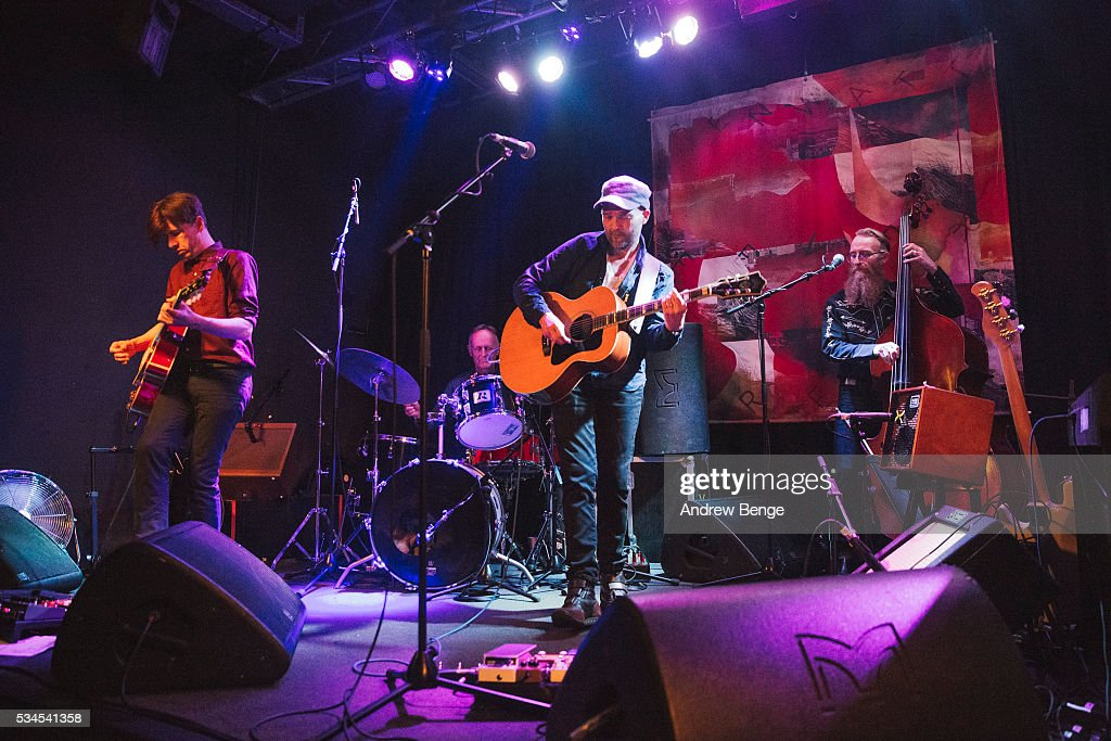 Ben Watt and Bernard Butler of the Ben Watt Band perform on stage at Belgrave Music Hall on May 26, 2016 in Leeds, England.