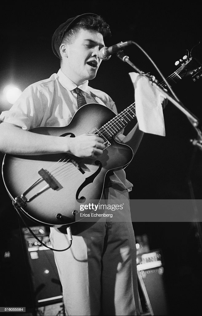 Ben Watt of Everything But The Girl performs on stage at the ICA London United Kingdom 5th January 1983