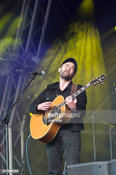 Ben Watt performs on stage during Primavera Sound Festival Day 3 at Parc del Forum in Barcelona Spain