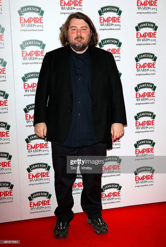 Ben Wheatley attends the Jameson Empire Awards 2014 at the Grosvenor House Hotel on March 30, 2014 in London, England. Regarded as a relaxed end to the awards show season, the Jameson Empire Awards celebrate the film industry's success stories of the year with winners being voted for entirely by members of the public. Visit empireonline.com/awards2014 for more information.