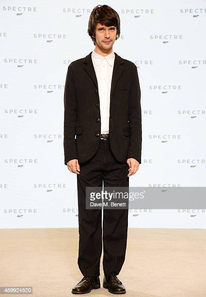 Ben Whishaw attends a photocall with cast and filmmakers to mark the start of production which is due to commence on the 24th Bond Film and announce...