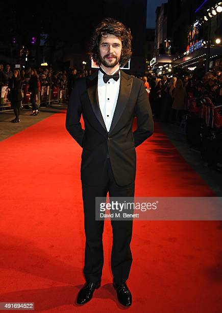Ben Whishaw attends a screening of 'Suffragette' on the opening night of the BFI London Film Festival at Odeon Leicester Square on October 7 2015 in...
