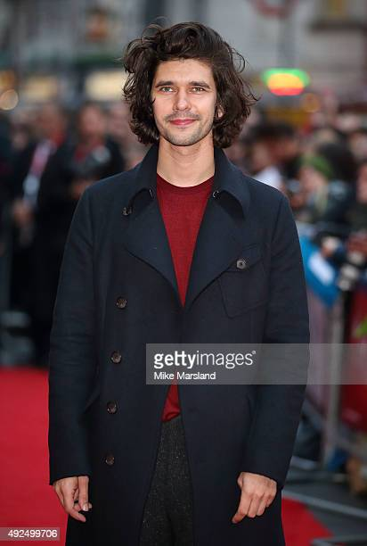 Ben Whishaw attends a screening of 'The Lobster' during the BFI London Film Festival at Vue West End on October 13 2015 in London England