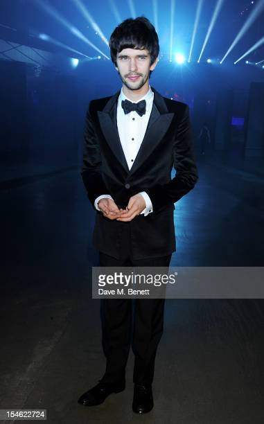 Ben Whishaw attends an after party for the Royal World Premiere of 'Skyfall' at the Tate Modern on October 23 2012 in London England