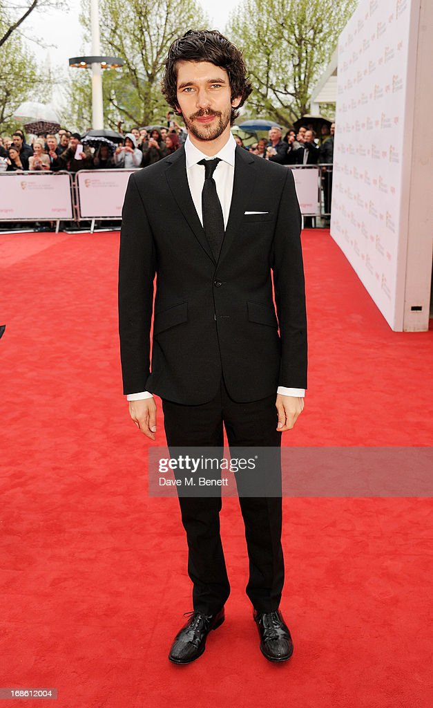 Ben Whishaw attends the Arqiva British Academy Television Awards 2013 at the Royal Festival Hall on May 12, 2013 in London, England.