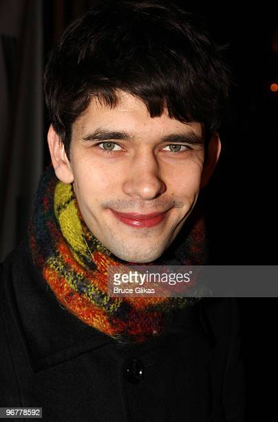 Ben Whishaw attends the opening night party for 'The Pride' offBroadway at the Maritime Hotel on February 16 2010 in New York City