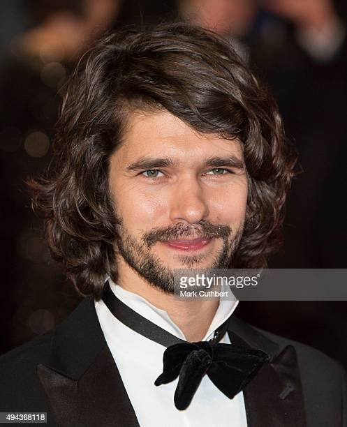 Ben Whishaw attends the Royal Film Performance of 'Spectre' at Royal Albert Hall on October 26 2015 in London England