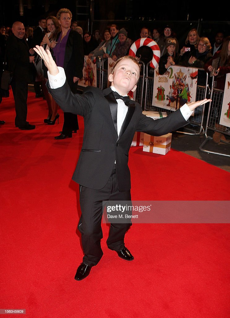Ben Wilby attends the 'Nativity 2: Danger In The Manger' premiere at Empire Leicester Square on November 13, 2012 in London, England.