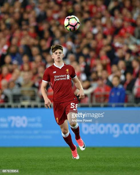 Ben Woodburn of Liverpool during the International Friendly match between Sydney FC and Liverpool FC at ANZ Stadium on May 24 2017 in Sydney Australia