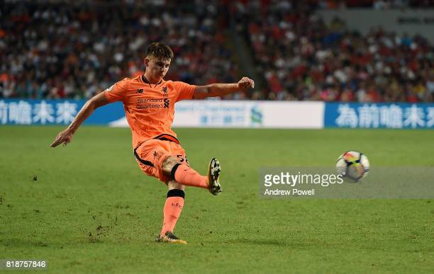 Ben Woodburn of Liverpool during the Premier League Asia Trophy match between Liverpool FC and Crystal Palace on July 19 2017 in Hong Kong Stadium...