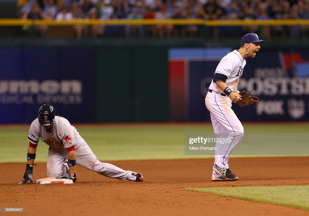 Division Series - Boston Red Sox v Tampa Bay Rays - Game Three