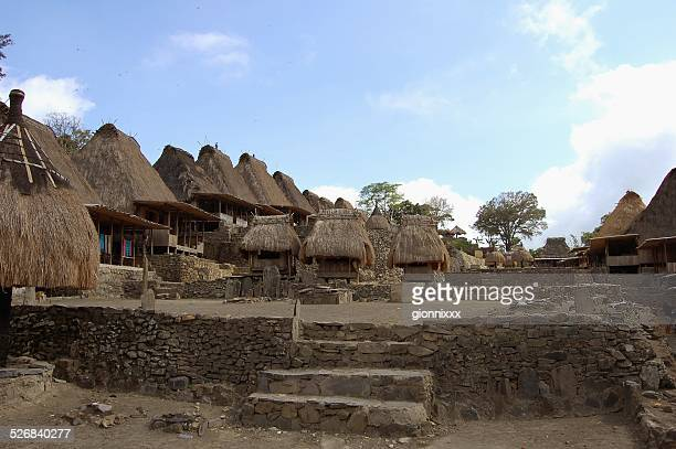 Bena Ngada village, Flores-Indonésie