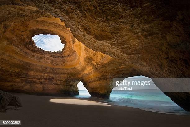 Benagil Sea Cave, Faro District, Algarve, Portugal, Europe
