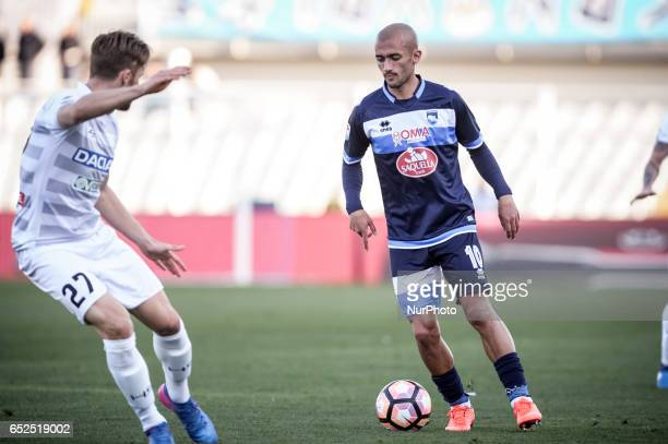 Benali Ahmad during the Italian Serie A football match Pescara vs Udinese on March 15 in Pescara Italy