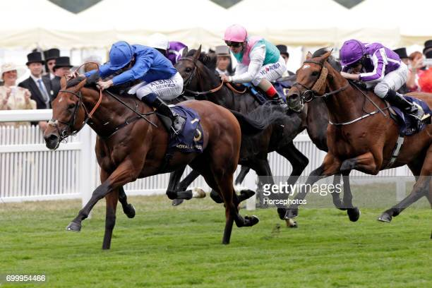 Benbatl with Oisin Murphy up wins the Hampton Court Stakes at Ascot Racecourse on June 22 2017 in Ascot England