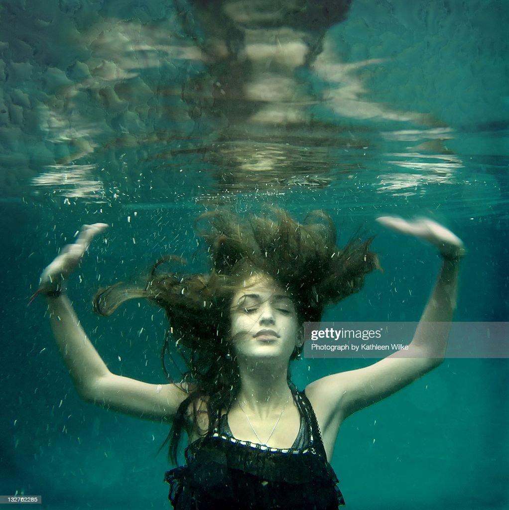 Beneath Surface : Stock Photo