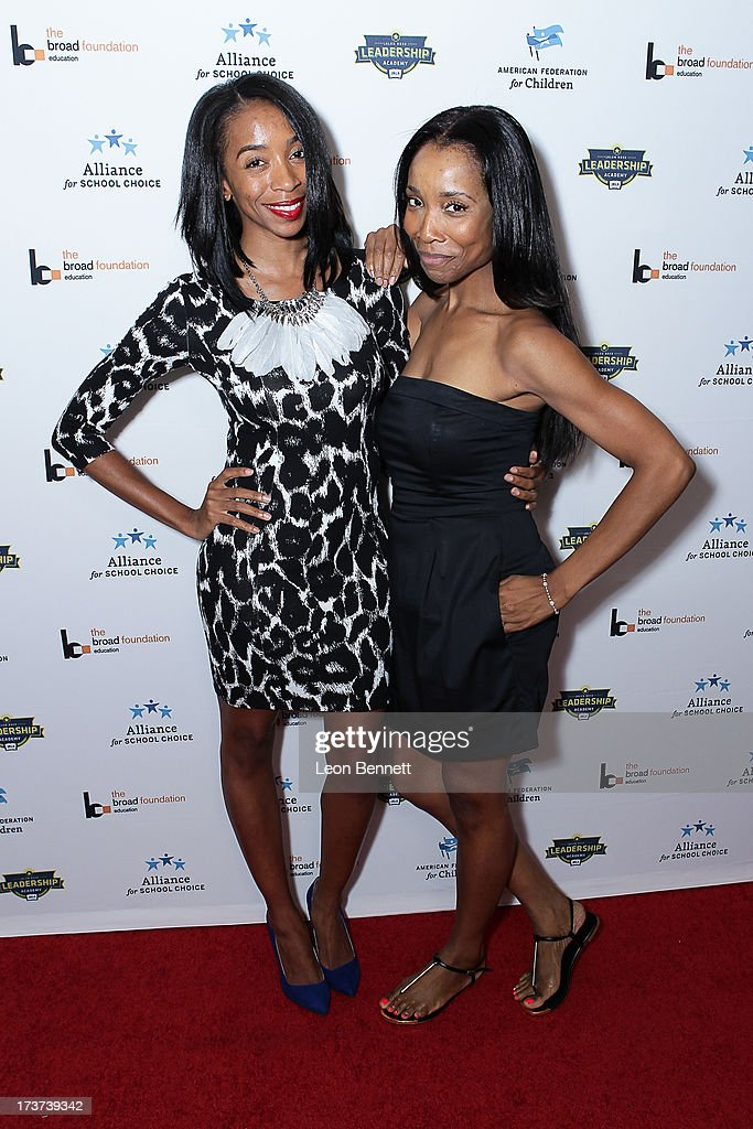Benecia Williams and Kita Williams attended The Champions For Choice In Education ESPYs Kickoff Cocktail Party at Ritz Carlton on July 16, 2013 in Los Angeles, California.