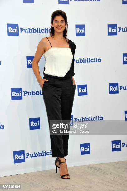 Benedetta Rinaldi attends the Rai Show Schedule Presentation In Rome on July 4 2017 in Rome Italy