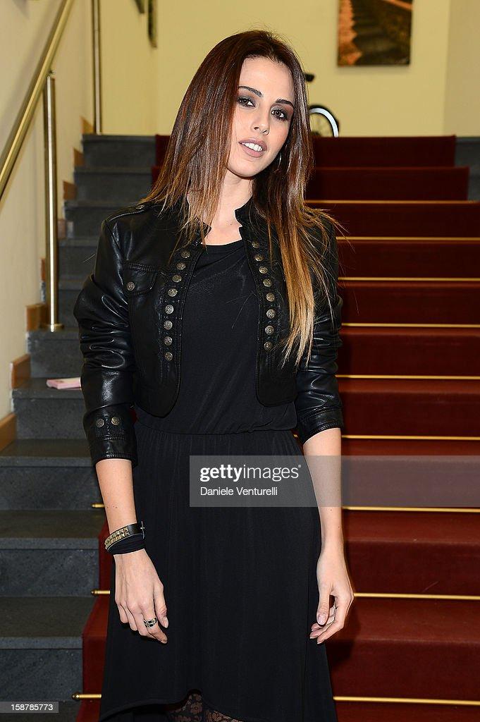 Benedetta Valanzano attends Day 3 of the 2012 Capri Hollywood Film Festival on December 28, 2012 in Capri, Italy.