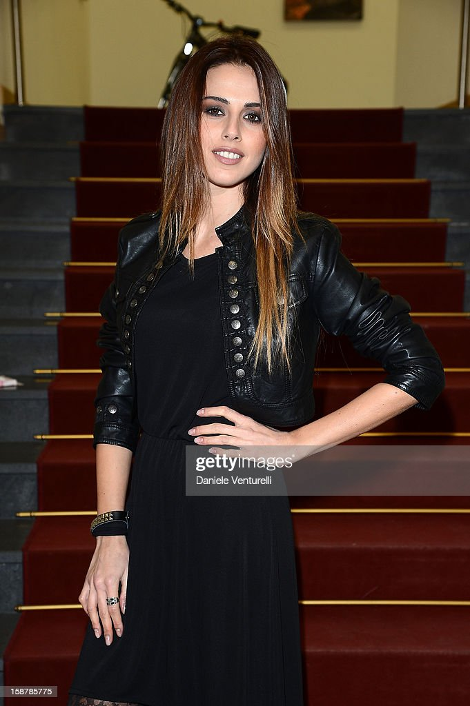 Benedetta Valanzano attends Day 3 of the 2012 Capri Hollywood Film Festival on December 28, 2012 in Capri, Italy.