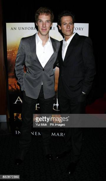 Benedict Cumberbatch and Ioan Gruffudd arrive for the UK Premiere of Amazing Grace at the Curzon Mayfair in central London