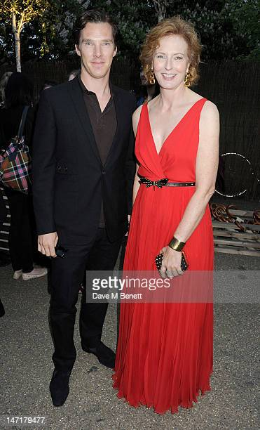 Benedict Cumberbatch and Julia PeytonJones attend The Serpentine Gallery Summer Party sponsored by Leon Max at The Serpentine Gallery on June 26 2012...
