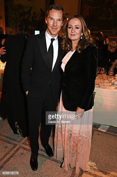 Benedict Cumberbatch and Lucy Yeomans attend as PORTER hosts a special performance of Letters Live in celebration of their Incredible Women of 2016...