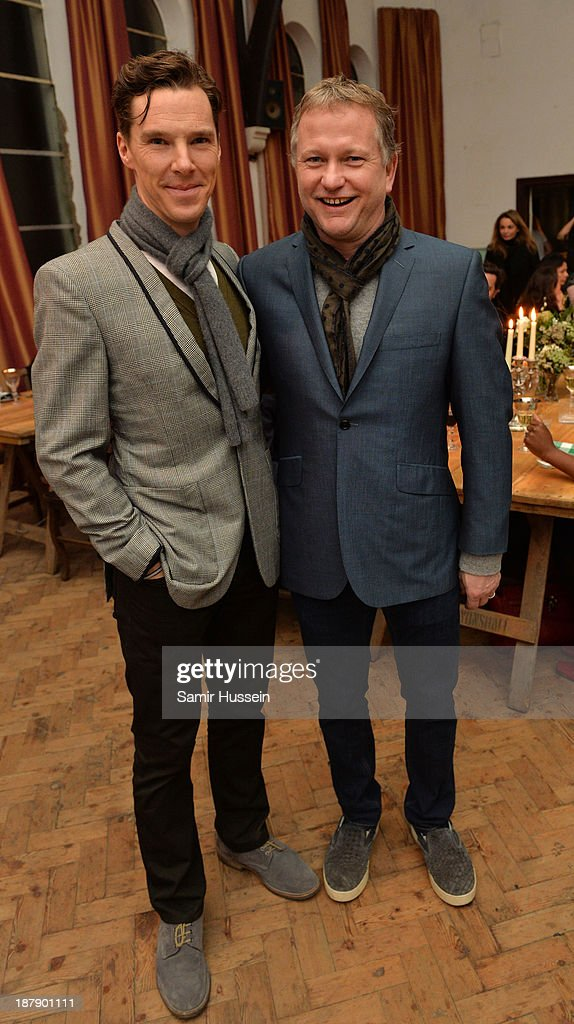 <a gi-track='captionPersonalityLinkClicked' href=/galleries/search?phrase=Benedict+Cumberbatch&family=editorial&specificpeople=2487879 ng-click='$event.stopPropagation()'>Benedict Cumberbatch</a> (L) and <a gi-track='captionPersonalityLinkClicked' href=/galleries/search?phrase=Nick+Jones+-+Entrepreneur&family=editorial&specificpeople=14651213 ng-click='$event.stopPropagation()'>Nick Jones</a> at the Soho House and Grey Goose party to celebrate the CineCity film festival on November 13, 2013 in Brighton, England. Guests enjoyed a three course sharing menu prepared by Soho House and Grey Goose cocktails. ;
