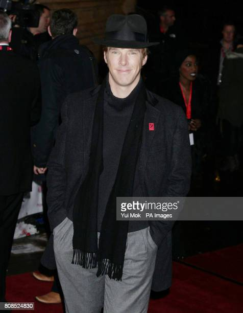 Benedict Cumberbatch arrive for The Prince's Trust Rock Gala at the Royal Albert Hall in London