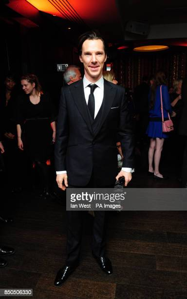 Benedict Cumberbatch arrives at the after premiere party for Star Trek Into Darkness at Aqua London